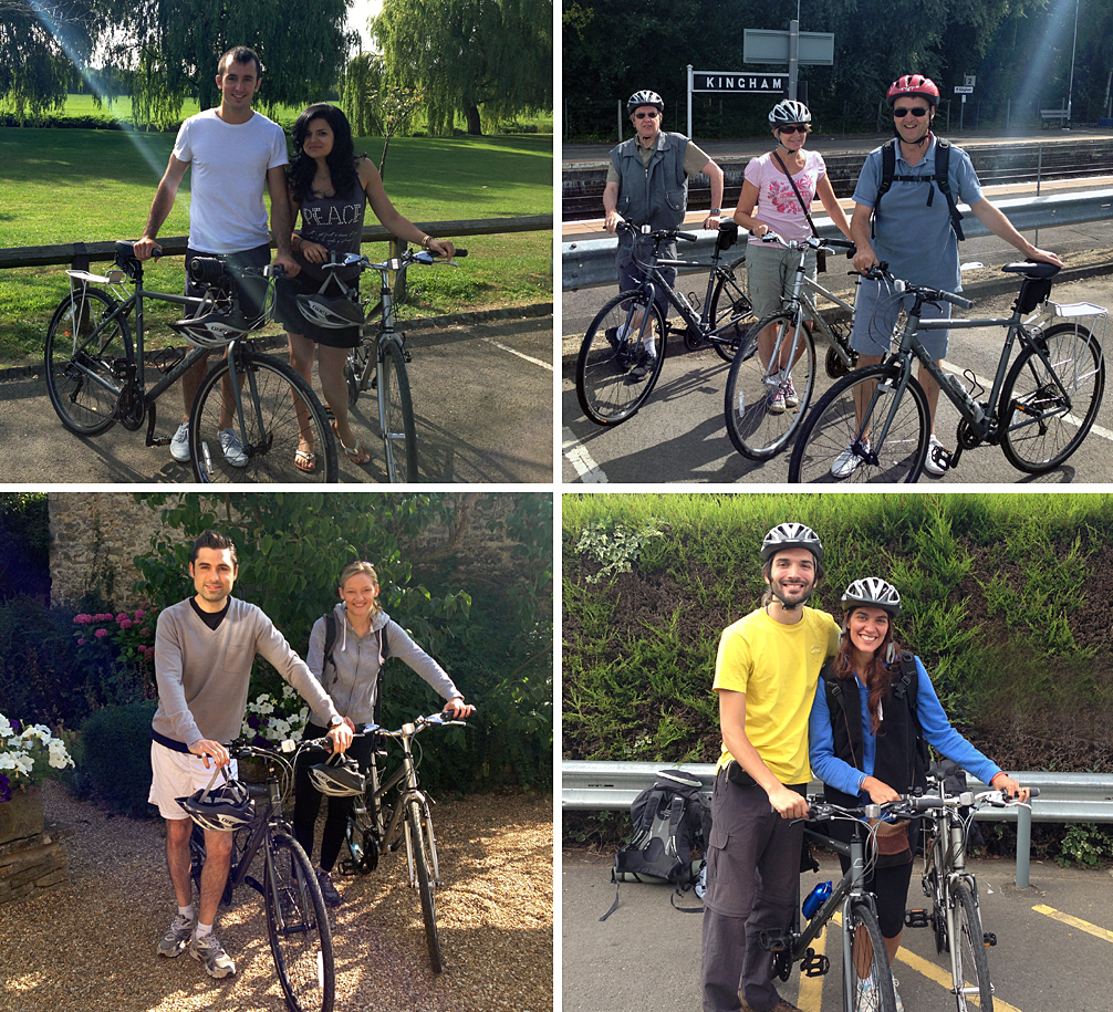 Windrush Cycle Tours - Happy Customers