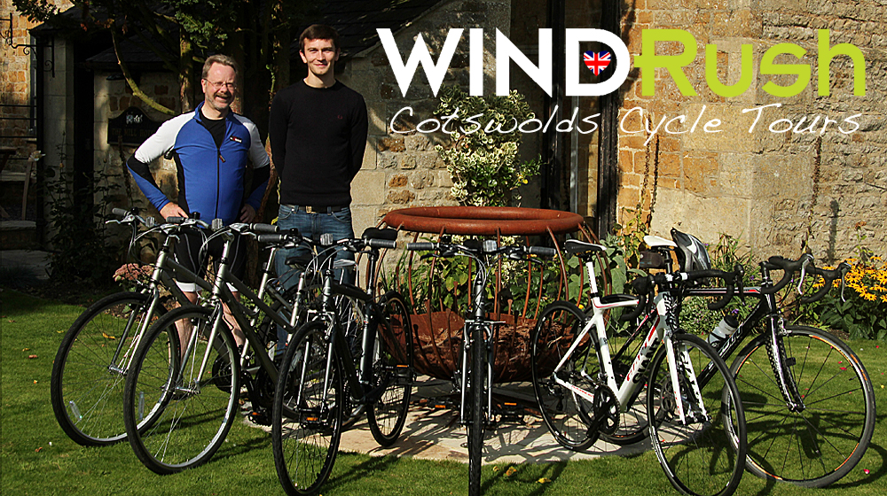 Windrush Cycle Tours_Peter and Tom